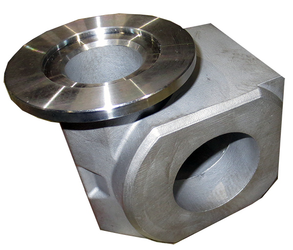 Forged pump housing stainless steel and machined finished