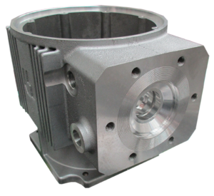 Aluminum_Sand_Cast Moter Housing