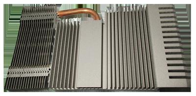 Liquid Cooled Copper Heat Sink-Pipe & Aluminum Heat Sink Combo