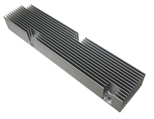 Extrusions and Heat Sinks Long Aliminum Extrusion Heat_sink used in the 5G wireless network