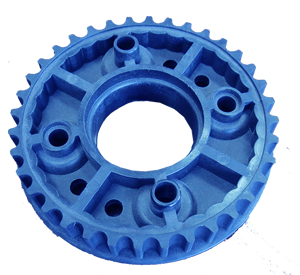 Contract Manufactured 15% Glassed Filled Nylon Injected Mold Gear