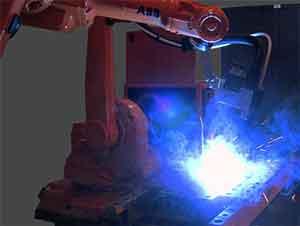 Robot Welding MIG Fabrication