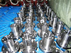 ASTM A105 Valvtron Valve Body Machined