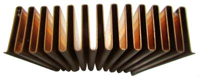 Fins for Folded Fin Heat Sink