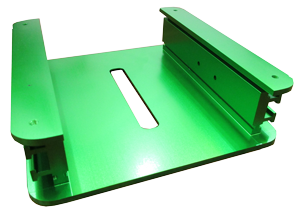 Heat Sink Green Anodized Aluminum Extrusion