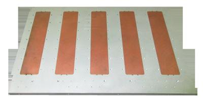 Heat Copper Spreader Bars